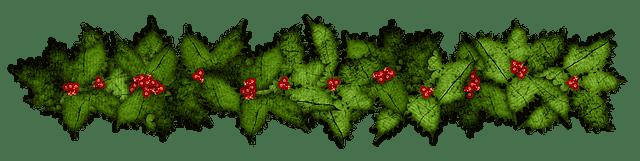 рождественская ветка