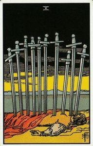 10 мечей таро