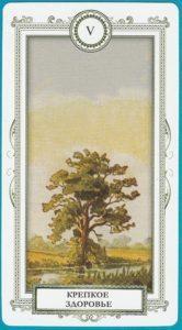 ленорман дерево