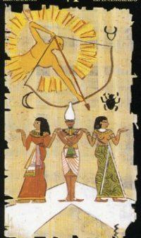 Египетское таро влюбленные