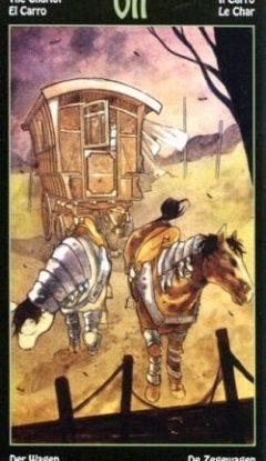 таро элементалей колесница