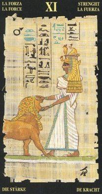 египетское таро сила