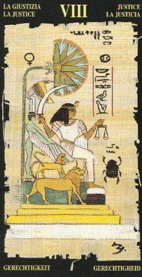 справедливость египетское таро