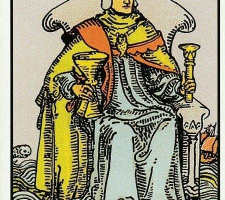 король кубков таро