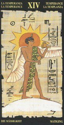 египетское таро умеренность