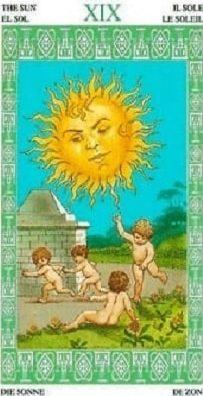 солнце ленорман
