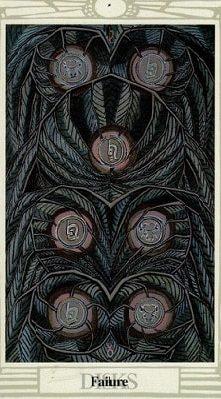 семерка монет тота кроули