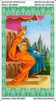 ленорман королева дисков