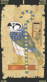 египетское таро туз жезлов