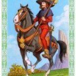 ленорман рыцарь жезлов