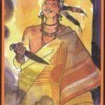 манара король жезлов