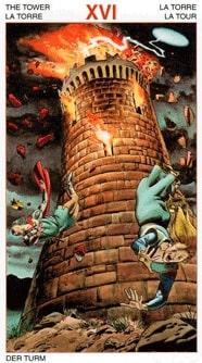 аркан таро башня