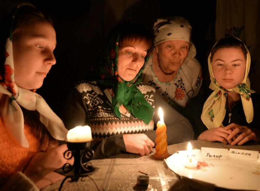 Гадание на Новый год на желание для детей